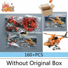 NEW  City Series Emergency Rescue Helicopter 3D Construction Plastic Model Building Blocks Bricks Compatible With legoe