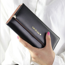 Zipper Phone Lady Female Wallet Women Purse Luxury Brand Famous Designer Clutch Perse Portfolio Walet Cuzdan Vallet Money Bag(China)