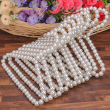 New CuteWhite Pearl Dog pet cat Clothes Hangers dispaly dog model for cloth baby newbrown cloth hanger Pet Accessories P40(China)