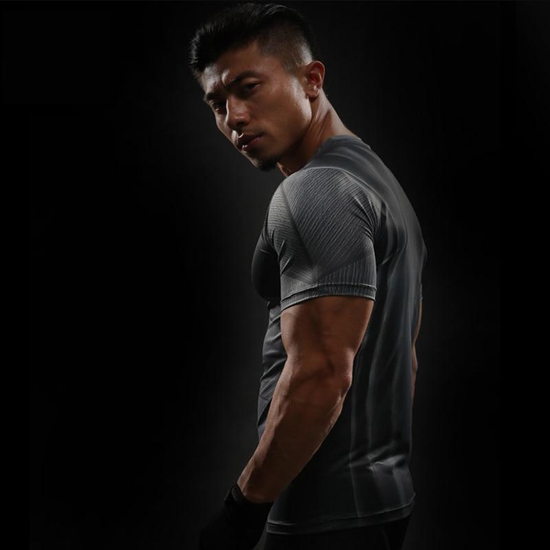 Short Sleeve 3D T Shirt Men T-Shirt Male Crossfit Tee Captain America Superman tshirt Men Fitness Compression Shirt Punisher MMA 26