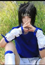 Blue1th Sasuke Cosplay Costume From Naruto Shippuden Anime Include Shoes And Other Accessory