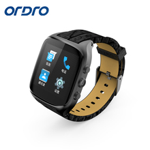 Ordro SW51 Android 5.1 512MB+4GB MTK6572 1.54 inch Ultra Thin Smart Watch Phone support wifi bluetooth GPS SIM card smartwatch