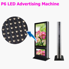 P6 outdoor led display advertsing machine 960*1536mm display screen 3G 4G WIFI control led display board
