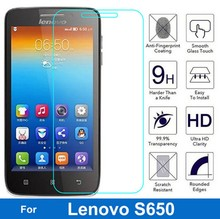 Buy Bainov Lenovo S650 Tempered Glass Original 9H Protective Film Explosion-proof Screen Protector S658 S658T S 658 T for $1.00 in AliExpress store