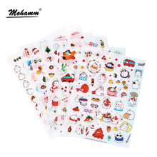 Buy 6 Pcs/Set Cute Molang Rabbit Cartoon Animals Sticker Pvc Cartoon Stickers Diary Sticker Scrapbook Decoration Stationery Stickers for $1.14 in AliExpress store