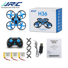 Original JJRC H36 Mini Rc Quadcopter Pocket Drone 4CH 6 Axis Headless Mode RC Helicopter UFO Toy Gift kids vs h8(China)