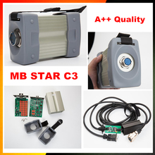 DHL shipping mb star c3 full set with five cables mb c3 star diagnosis tool  mb star c3 multiplexer without software