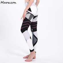 Buy Maoxzon Women's Pattern Print Sexy Fitness Slim Leggings Trousers Patchwork Casual Active Workout Ioga Skinny Pants Female for $16.18 in AliExpress store