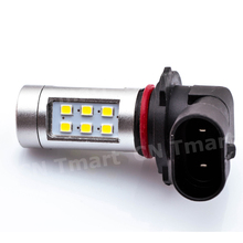 10pcs/lot 9005 HB3 White High Power 21 2835-SMD LED  Front Fog Light DRL Replacement Bulb 9006/HB4/1156/1157/h4/h7/h8/h11