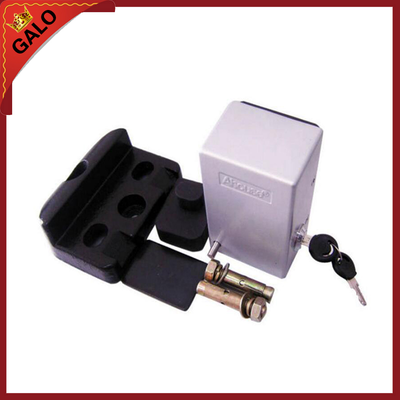 24VDC Electric lock for gate opener,electric bolt lock for swing gate opener silver<br>