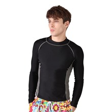 Long Sleeves Rash Guard Suit for Men Uv Protection Quick-Dry UPF50+ Wetsuit Swimming Surfing Diving Suit Rashguard Clothing