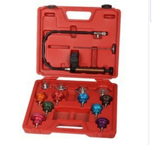 14pcs Car Water Tank leak detector Universal Radiator Pressure Tester Kit Vehicle(China)