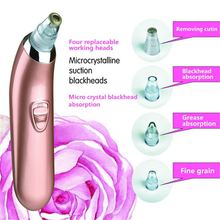 Naipo Blackhead Remover Electric Face Vacuum Facial Pore Cleaner Acne Remover Comedo Suction Acne Extractor