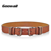 Goowail 2017 Fashion Tribal wind western Belts For Women 6 bar Pin Buckle female strap Designer pu Leather belt for ladies jeans