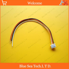 20 pcs 4 Pin 2.54mm Connector XH-4P single plug with 20cm cable for Electronic model / Automobile/PCB ect.Free Shipping
