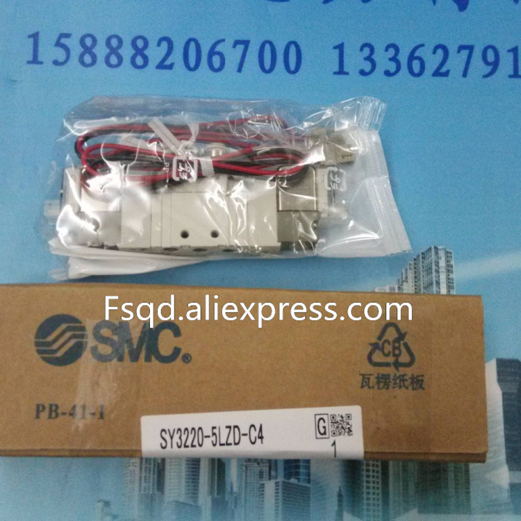 SY3220-5LZD-C4 SMC solenoid valve electromagnetic valve pneumatic component<br>