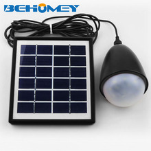 Behomey Solar Ball Light Camping Lights Solar Powered 11PCS LED 3.7V 2200mAh IP65 Black Free Shipping(China)