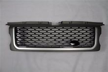 Black front grille front mesh grill for Land Rover Range Rover Sport 2006 2007 2008 2009