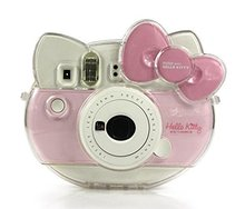 Fujifilm Instax Mini Hello Kitty Camera Transparent Crystal Case PVC Protector Instant Film Camera Shell Cover(China)
