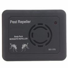 High Quality Outdoor Camping Electronic Pest Bug Anti Mosquito Insect Ultrasonic Repeller New Outdoor Tool For Camping Hiking(China)