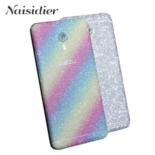 Sparkling Full Body Sticker for Meizu M3 Note M2 Note M3s Decal Skin Protective Cover Film Matte Shiny Glitter No Fingerprint