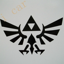 Zelda Vinyl Decal Sticker Triforce Car Ski Skateboard Snowboard PC Computer PS