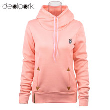 2017 Fashion Women Hoodie Sweatshirts Self-tie Pockets Pullover Hooded Loose Tops