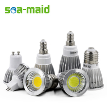 COB LED Spotlight E27 GU10 E14 3W 5W 7W 220V 110V MR16 12V Lampada LED Lamp Focoe Refletor Bombillas LED Bulbs Lampara Luz(China)