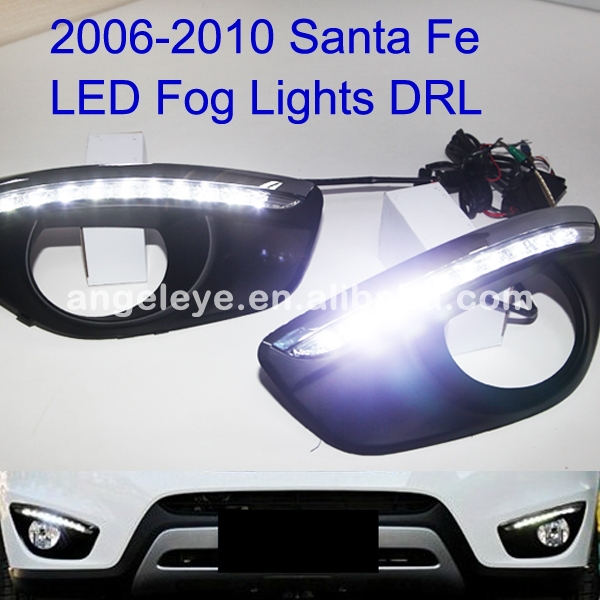 FOR HYUNDAI New Santa Fe DRL Daytime Running Light 2006 TO 2010 Year<br><br>Aliexpress