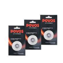 3pcs POVOS Electric Shaver Razor Blade Cutter Rotary type Applicable models 8602 8606 8508 8100 9100 PW831 and so on(China)