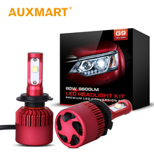 Auxmart SMD CREE Chips Car LED Headlight Kit H4 H7 H11 H13 9005 HB3 9006 HB4 LED Head Lamp Fog Light Single/Hi-Lo Beam