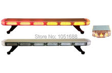 United Safe free shipping ESL3034 L low profile GEN III 1 Watt super bright LED Warning Lightbar(amber/blue/red/white)
