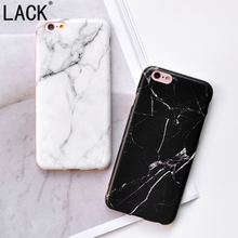 LACK High quality Smooth Marble Phone Cases for iPhone6 Fundas For Apple iPhone 6S 7 7Plus Fashion Black White Marble Back Cover