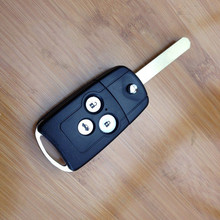 or Honda Accord Flip Key Replacement Folding Remote Key Shell 3 Button Key Case For Honda Acura Spirior Fob Car Key Shell Case