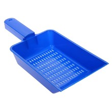 free shipping new Blue Reptile Terrarium Litter Scoop Sand Sieve Cleaning Tool Substrate Shovel