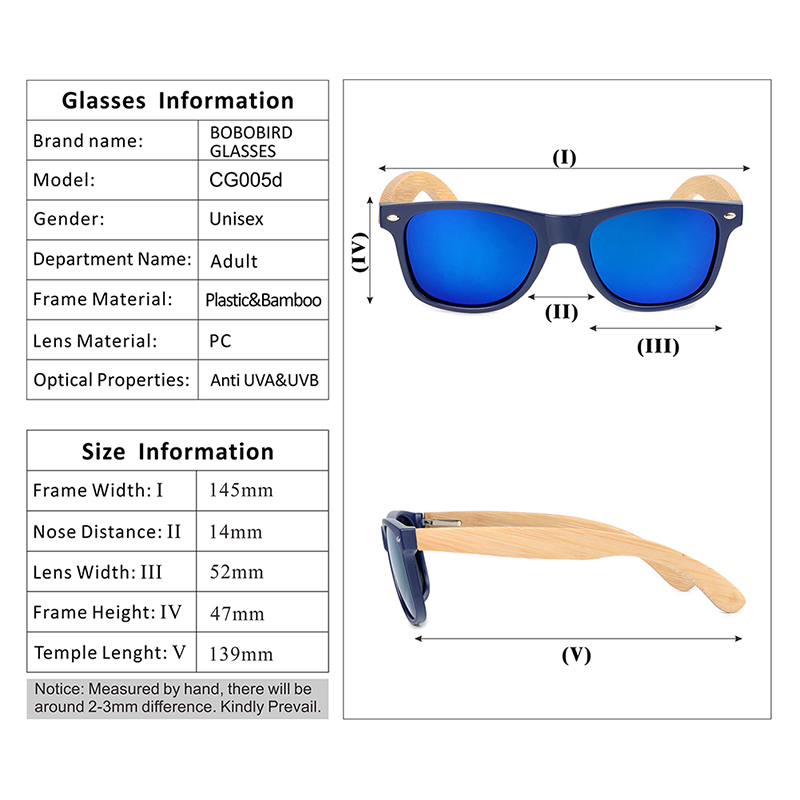 Deep Blue Plastic Polarized sunglasses women and mens (8)