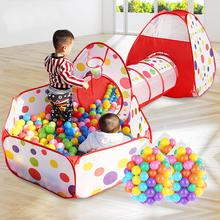Funny 3pcs/set Foldable Kids Toddler Tunnel Pop Up Play Tent Toys For Children Indoor Outdoor Playhouse Kids Play Gaming Toys