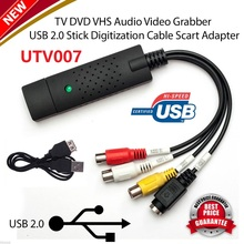 UTV007 Chipset EasyCAP USB 2.0 ezcap VHS TAPE TO PC DVD CONVERTER VIDEO & AUDIO CAPTURE CARD/ADAPTER