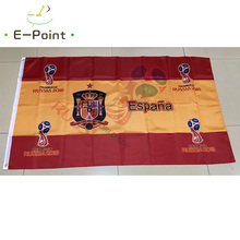 2018 Russia Football World Cup Spain National Team 3ft*5ft (90*150cm) Size Decoration Flag Banner