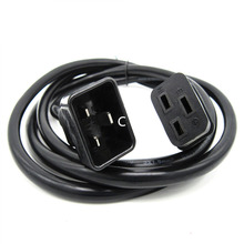 6FT 10FT UPS Power extension lead, IEC C19 to C20 Power Cord Lead For DELL,HP,IBM server Forcisco Routers(China)