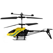 Mini RC 901 Helicopter Shatter Resistant 2.5CH Flight RC Helicopter Drones Toys with Gyro System With Light