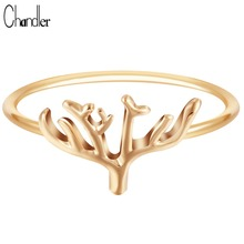New Design Silver Plated Tree Shape Midi Pinkie Knuckle Toe Ring Band Promise Lucky Alloy original Brass Ring For Women(China)