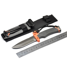 Brand 7Cr17mov Blade Camping Survival Knife Hunting Knives Tactical Knife SDIYABEIZ Full Blade /Half Serration Model [2 Model](China)