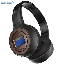 Ouhaobin Top Popular Bluetooth Headphone 3.0 Stereo Bluetooth Wireless Headset Headphones With Call Mic Microphone Charging Sep4(China)