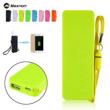 MAXNON Portable Practical Ultra-thin Vivid colors mobile USB power bank general charger external backup battery pack(China)