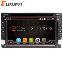 Eunavi 2 din android car radio tape recorder audio stereo For Universal 2din autoradio car dvd GPS Navigation SWC Wifi in dash