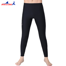 DIVE&SAIL 1.5MM Neoprene Diving Ankle-length Pants For Men Or Women Snorkeling Capri-pant Swimming Rowing Sailing Surfing Warm