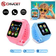 Chycet Kids K3 Smart  GPS Waterproof Watch MTK2503 children Security GPS Tracker GPS Watch phone with Camera sound recording