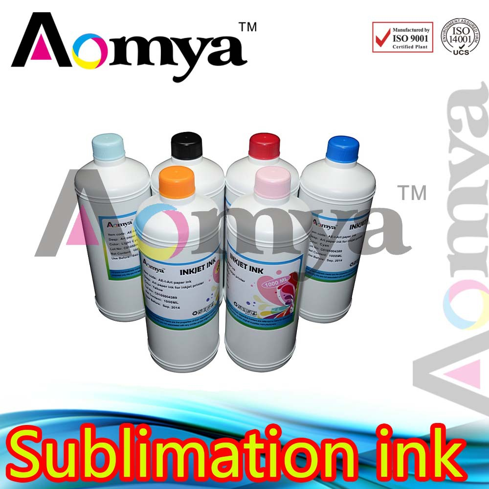 1000ml x 6 bottles Hot sale 1000ml printing Sublimation ink for Roland  740 6c<br><br>Aliexpress