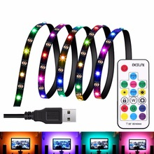 IP65 LED TV Backlight Strip Light Kit RGB 5V USB Light Background Light Strip for TV/Computer/Laptop/Desktop PC Backlight LED St(China)